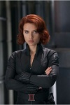 Scarlett Johansson, Black Widow dans Avengers – Interview