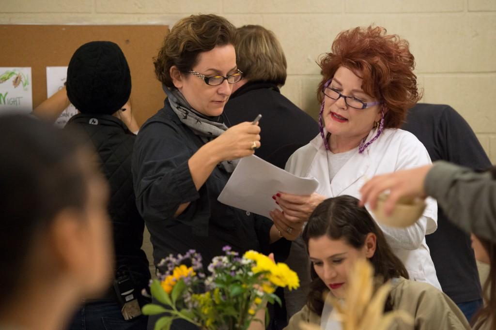 La réalisatrice Uta Briesewitz et Kate Mulgrew
