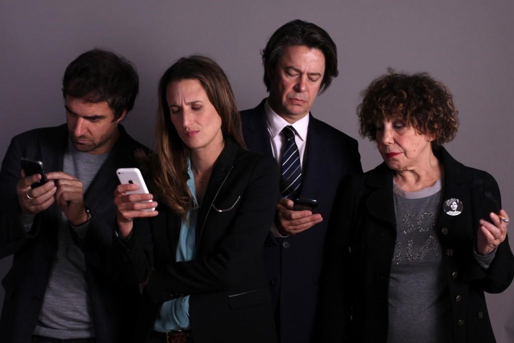 Gregory Montel (Gabriel Sarda), Camille Cottin (Andrea Martel), Thibault de Montalembert (Mathias Barneville), Liliane Rovère (Arlette Azemar)
