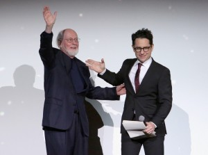 John Williams et J.J. Abrams ©Jesse Grant | Getty Images pour Disney