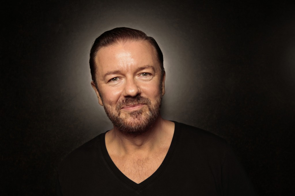 Ricky Gervais ©Carolyn Cole  pour le Los Angeles Times