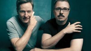 Bryan Cranston et Vince Gilligan ©Austin Hargrave pour Hollywood Reporter