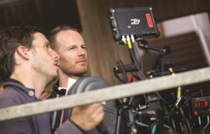 Joachim Trier sur le tournage de Back Home