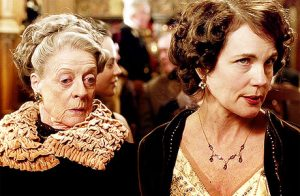 Maggie Smith et Elizabeth McGovern