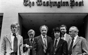Robert Redford, Jason Robards, Jack Warden, Dustin Hoffman, Alan J. Pakula et Martin Balsam