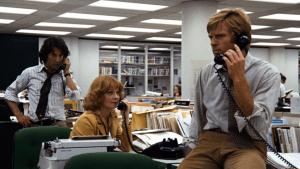 Dustin Hoffman, Penny Fuller et Robert Redford