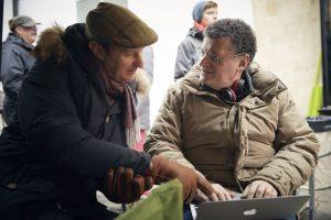 Mark Gatiss et Steven Moffat