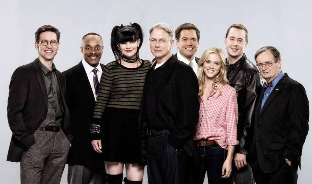 Brian Dietzen, Rocky Carroll, Pauley Perrette, Mark Harmon, Michael Weatherly, Emily Wickersham, Sean Murray, David McCallum