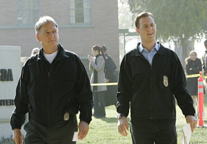 Mark Harmon et Sean Murray