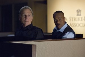 Mark Harmon et Rocky Carroll