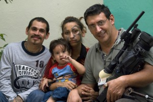 El Bambam, La Little One, Cesarito et Christian Poveda