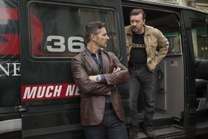 Eric Bana et Ricky Gervais dans Special Correspondents