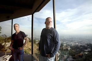 Titus Welliver et Michael Connelle © Genaro Molina / Los Angeles Times