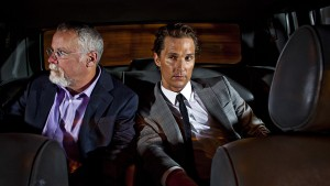 Michael Connelly et Matthew McConaughey © Jay L. Clendenin / Los Angeles Times