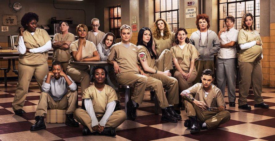 Le cast de Orange is the new black - Saison 4